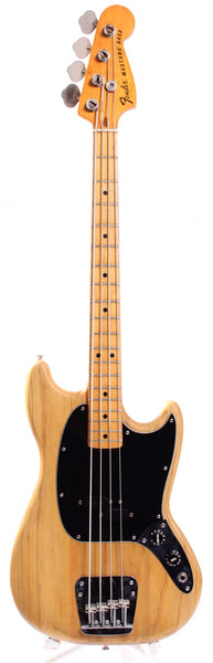 1978 Fender Mustang Bass natural