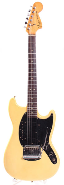 1979 Fender Mustang olympic white