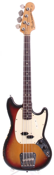 1974 Fender Mustang Bass sunburst