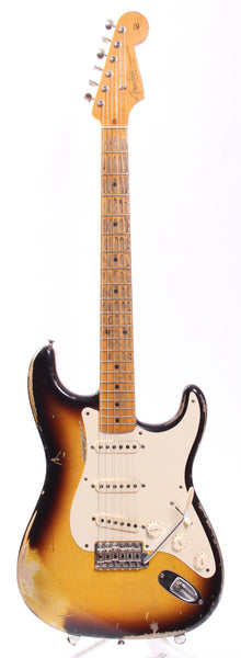 2010 Fender Custom Shop 57 Stratocaster Relic sunburst