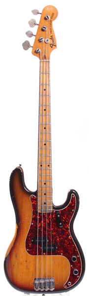 1973 Fender Precision Bass sunburst