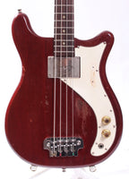 1965 Epiphone Newport EB-S cherry red