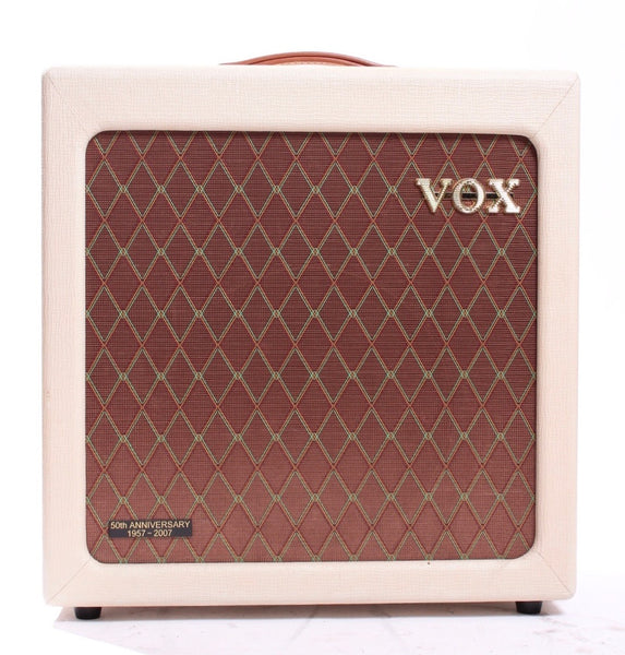 2007 Vox V112HTV 1x12 Cabinet 50th Anniversary fawn