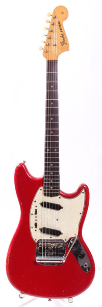 1964 Fender Mustang dakota red