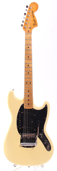 1978 Fender Mustang olympic white