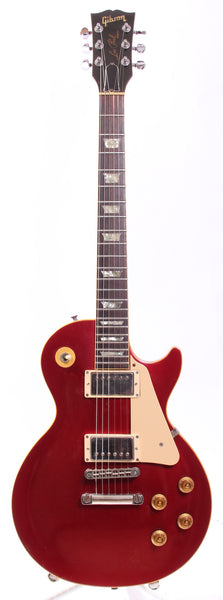 1985 Gibson Les Paul Standard candy apple red