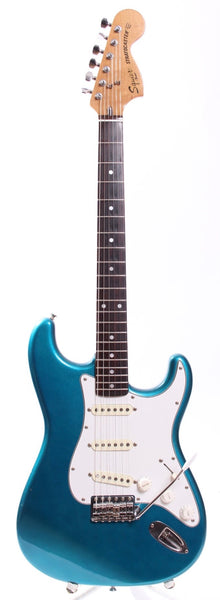 1983 Squier Stratocaster 72 Reissue lake placid blue