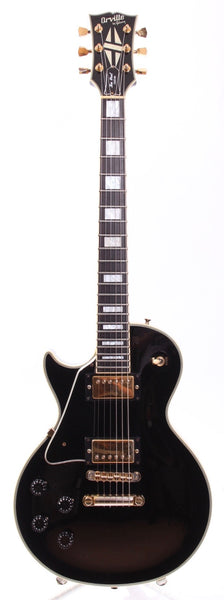1989 Orville by Gibson Les Paul Custom lefty ebony