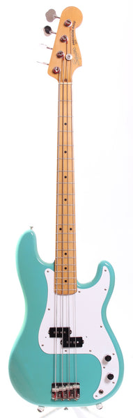 1983 Squier JV Precision Bass 57 Reissue california blue