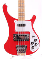 2014 Rickenbacker 4003 Bass FAR fire alarm red