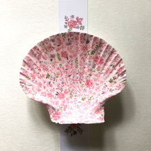 Load image into Gallery viewer, Seashell No. 15: Pink and Lavender Florals on Pink