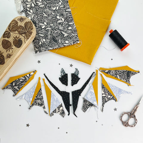 Week 3 of the Bat EPP along- all about stitching the bat together