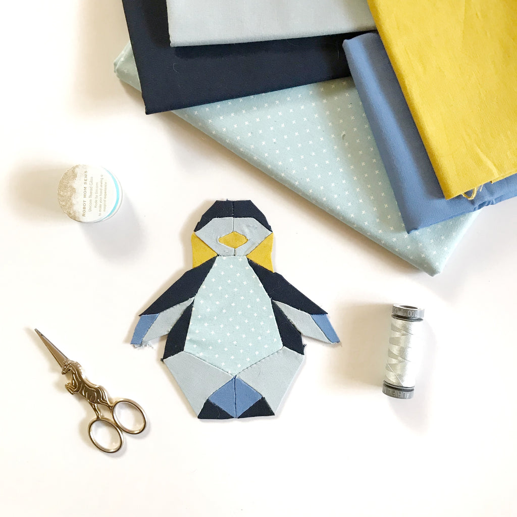 PENGUIN EPP Pattern *FREE DOWNLOAD*