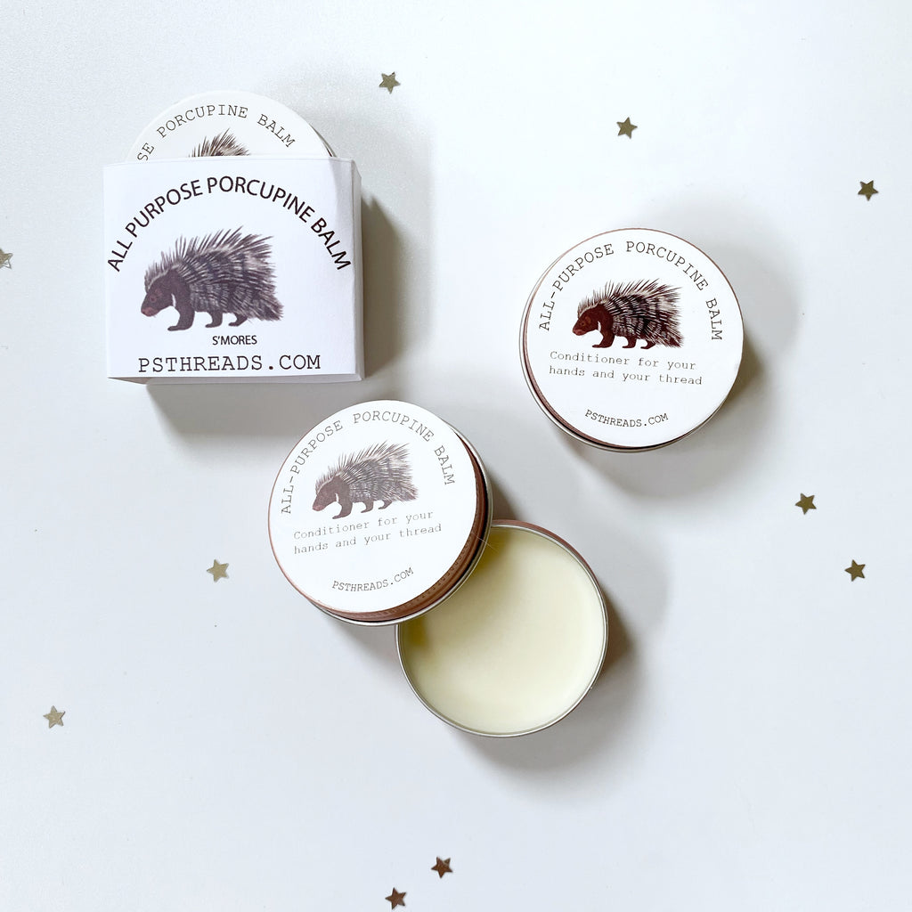 Porcupine Balm S'mores  Set of THREE