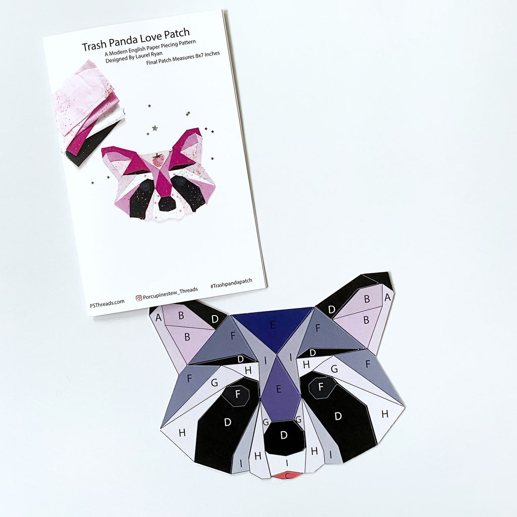 TRASH PANDA PAPER PATTERN