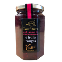 Confiture Artisanale « 4 Fruits Rouges » - Confiserie des Arcades