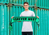 FOREVER WEST CLUB SUPPORTER SCARF
