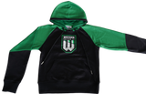 YOUTH STADIUM FLEECE  CONTRAST HOODIE
