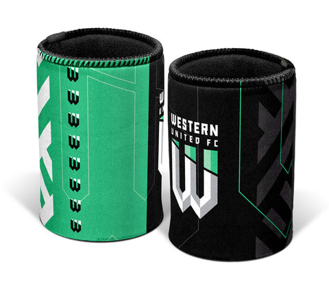 WESTERN UNITED SUPPORTER CAN COOLER