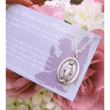 Load image into Gallery viewer, The Miraculous Medal Necklace