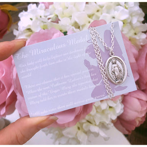 The Miraculous Medal Necklace