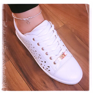 Open Star Anklet