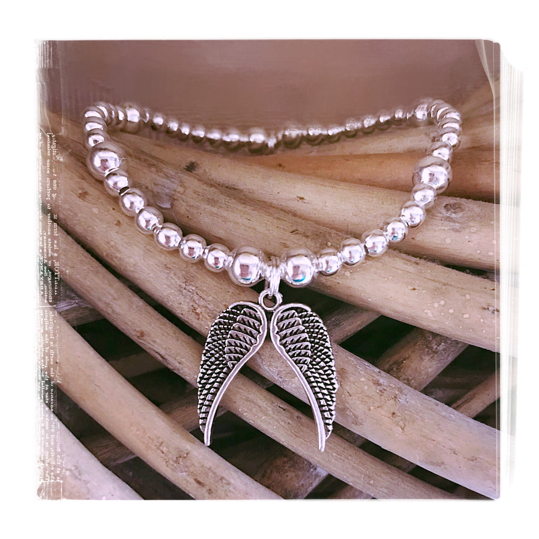 Double Angel Wings Bracelet