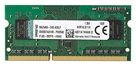 Memoria Ram DDR3 PC3L-12800 Sodimm Kingston 4GB