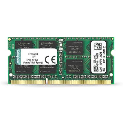 Memoria Ram DDR3 Sodimm PC3L-12800 Kingston 8 GB
