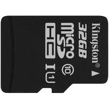 Memoria MicroSDHC con Adaptador 32 Gb Kingston