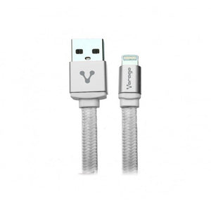 Cable Lightning USB/iPhone CAB119 Plata Vorago
