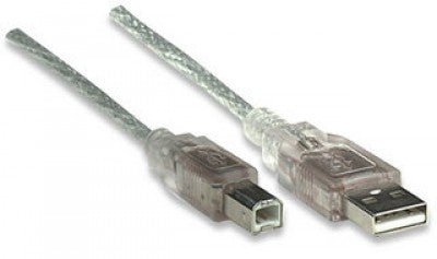 Cable USB V2.0 A-B 333405 Manhattan