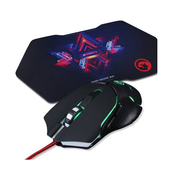 Kit Mouse M309 y Tapete G7 Marvo
