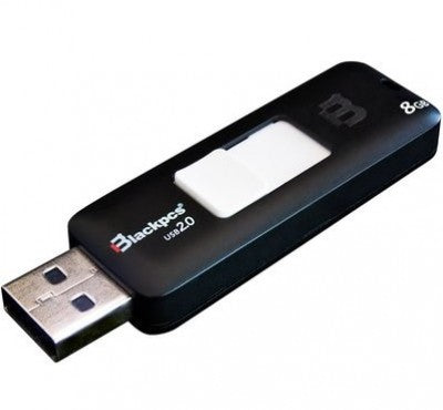 Memoria USB MU2101 8Gb Blackpcs