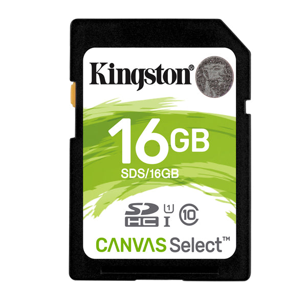 Memoria SDHC con Adaptador 16 Gb Kingston