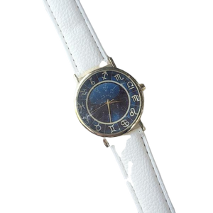 White Astro Stars Watch