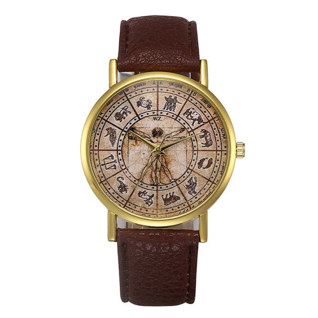Brown Retro Design Watch