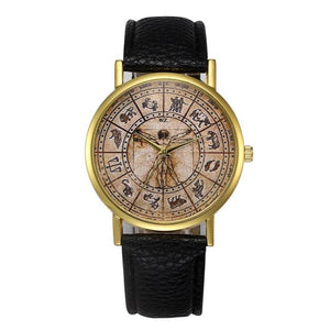 Black Retro Design Watch
