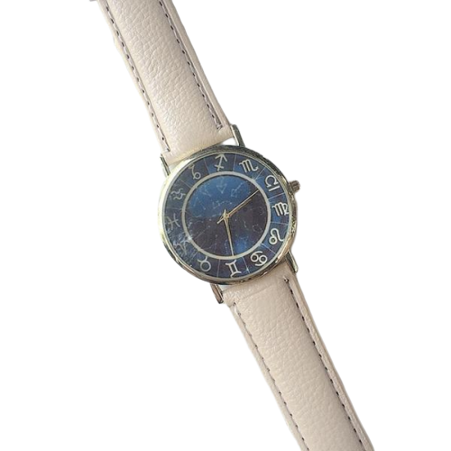 Beige Astro Stars Watch