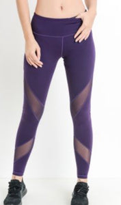 Eggplant Leggings