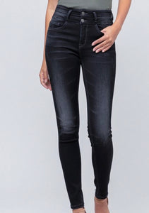 Boho Black Denim