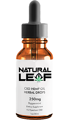 Natural LeaF CBD Oil 250mg (Organic)