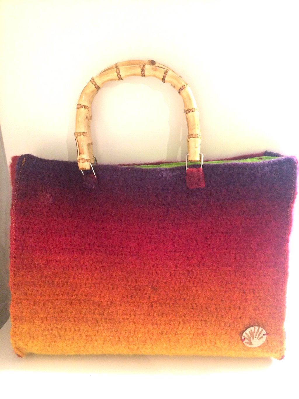 Tasche - rainbow bag