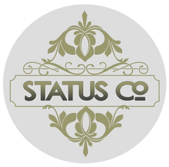 Status Co. Leather Studio Logo, full-grain, handcrafted, heirloom quality