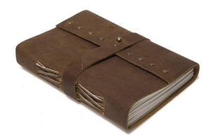 Buffalo Leather Belt Diary / Notepad