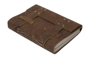 Buffalo Leather Belt Journal