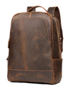 Vintage Hunter Buffalo Leather Backpack - Status Co. Leather Studio