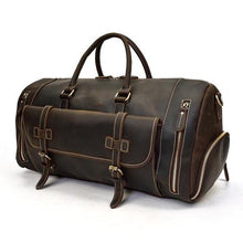 Load image into Gallery viewer, Men's Hunter Buffalo Weekender / Duffel Bag