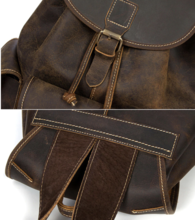 Load image into Gallery viewer, Vintage Hunter Buffalo Leather Rucksack