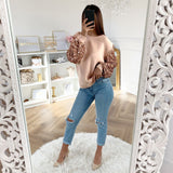 Autumn Women Sweater Tops Lantern Long Sleeve Sequins Bling Lady Pullover Sweater Korean Slim Knit Slim Sweater Female Knitwear